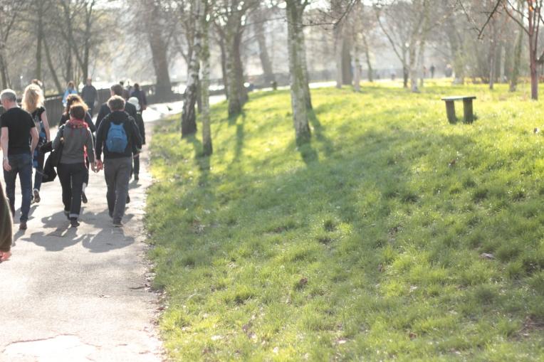 Spring begins in London 255